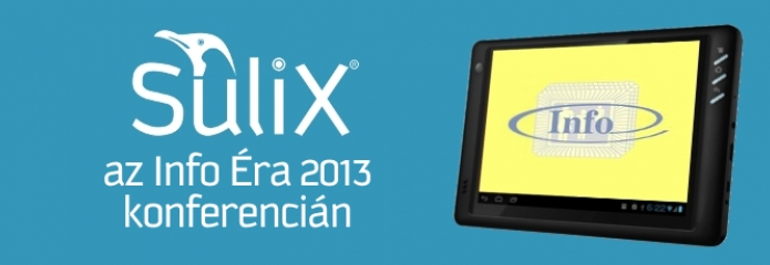 SuliX az Info Éra 2013 konferencián